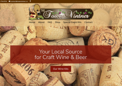 The Town Vintner Website