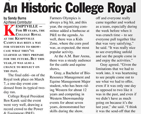 An historic College Royal