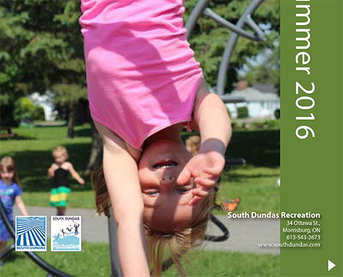 South Dundas 360° Recreation Guide, Spring/Summer 2016