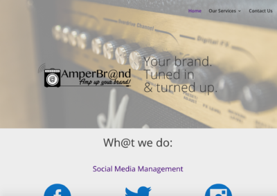 Amperbr@nd Website