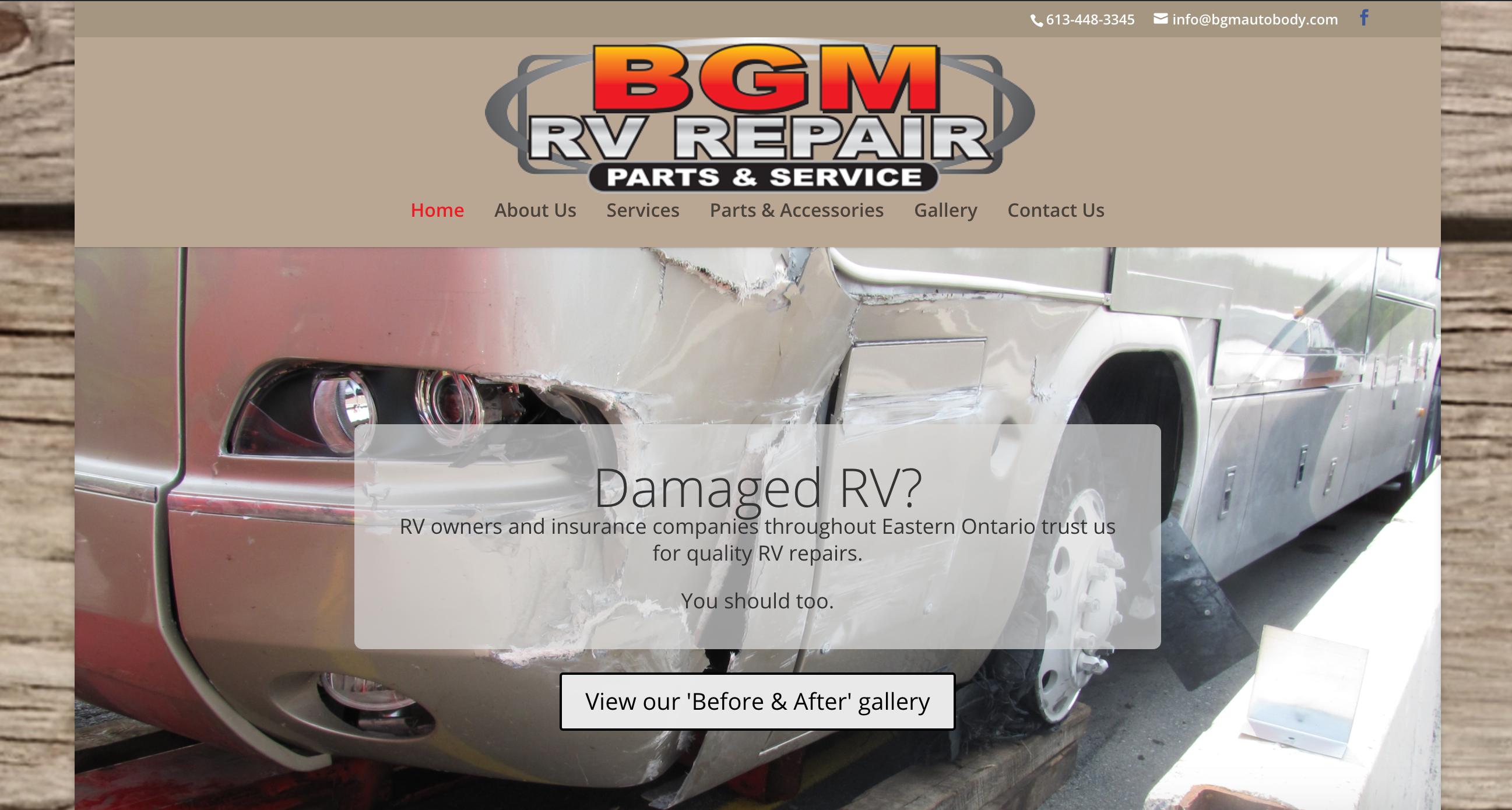 BGM RV Repair