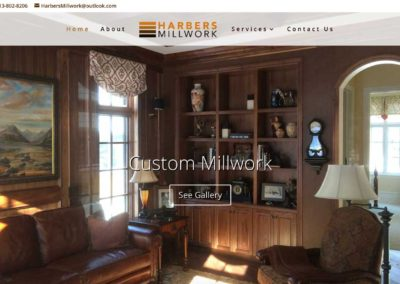 Harbers Millwork Website