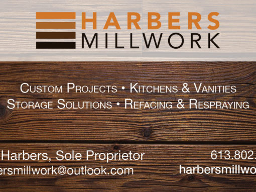 Harbers Millwork Business Card & Facebook Cover Photo