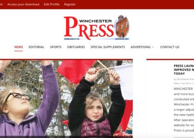 Winchester Press Website