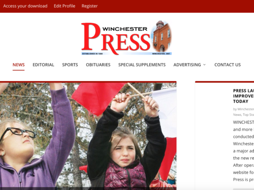 Winchester Press Website