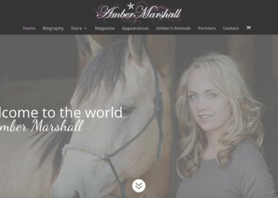 Amber Marshall Website