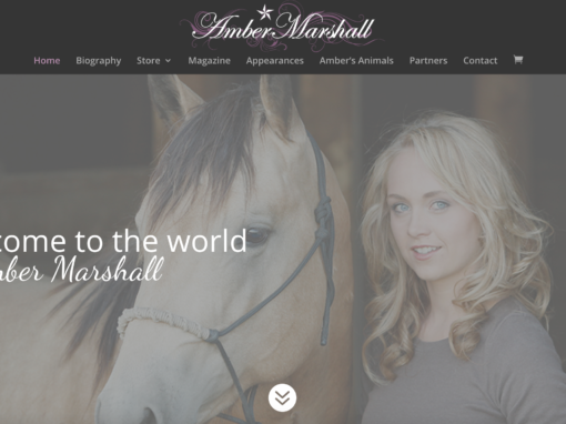 Amber Marshall Website