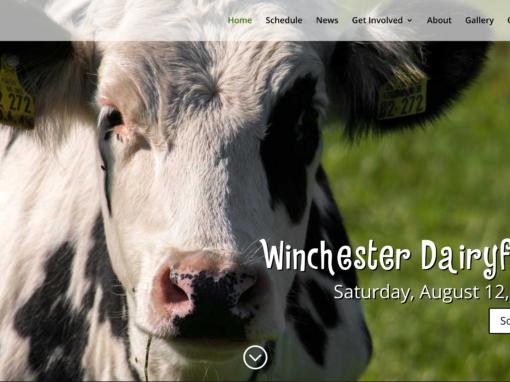Winchester Dairyfest Website