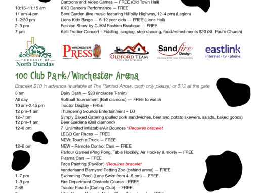 Winchester Dairyfest Promotional Materials