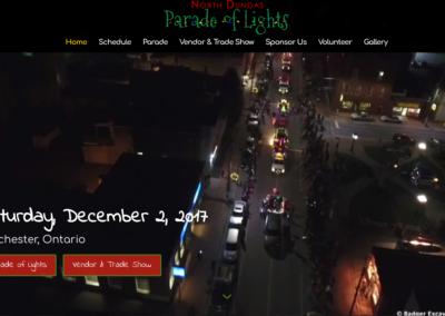Parade of Lights Website