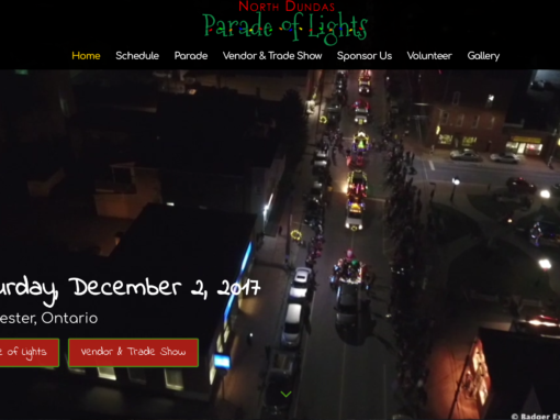 Parade of Lights Website