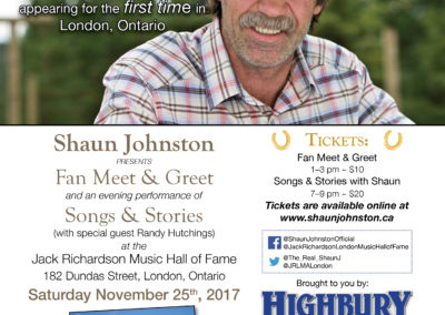 Shaun Johnston Poster