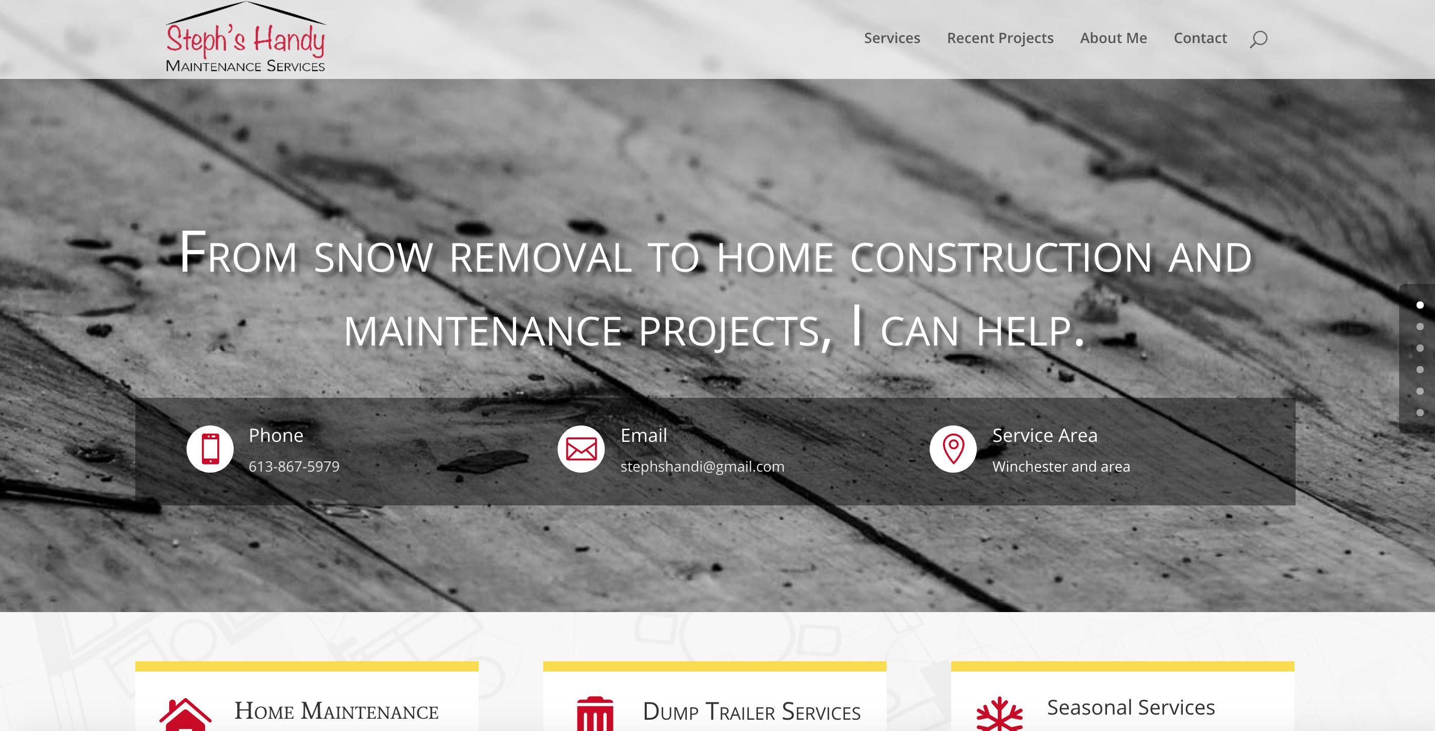 Steph's Handy Maintenance Services