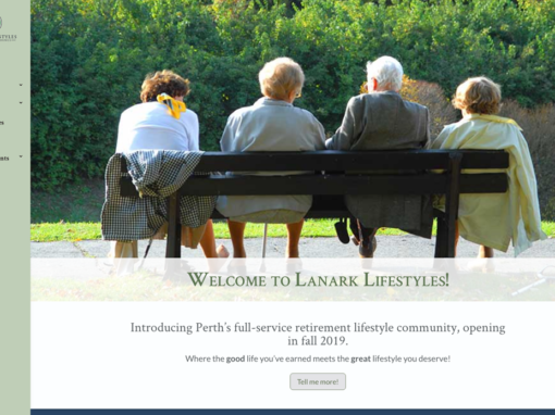 Lanark Lifestyles Website