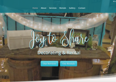 Joy to Share Decorating & Rental